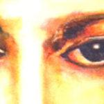 Détail Jésus Christ peinture à l'huile