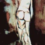 Femme nue - Ferrara M
