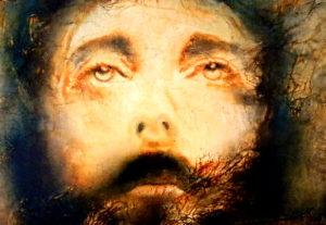Jésus Christ Peinture à l'huile sur toile